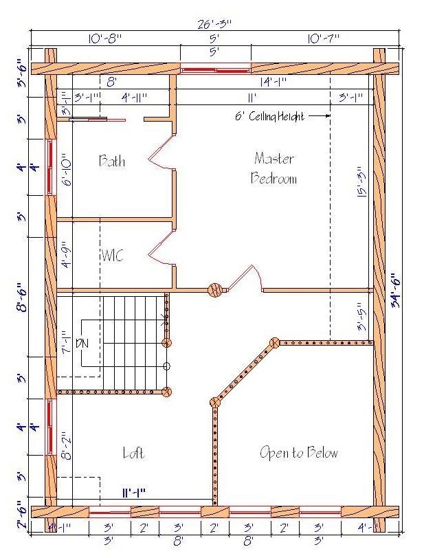 24x32 cabin plans with loft bing images for 32x32 cabin plans